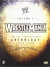 wrestlemania vhs box set