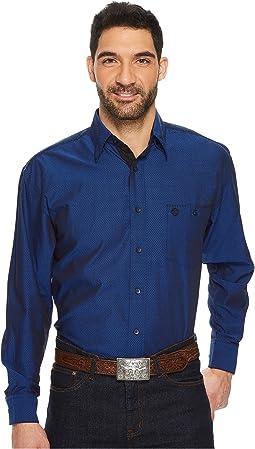 Wrangler - George Strait Long Sleeve Button Troubadour Dobby