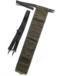 TIPU Axe and Saw Sling, Bushcraft Axe Carrier, Canvas Sheath for BOREAL21 Folding Bow Saw
