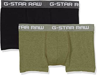 G-Star RAW Men's Classic Trunk HTR 2 Pack