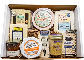 Classic Provisions Artisan Cheese Box – Party To Go, Cheese, Cheese Board, Cheese Gift Baskets, Holiday Gift, Appetizers, ...
