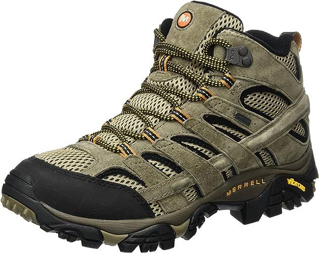 Merrell Moab 2 cuir Mid GTX, Chaussures de Randonnée Hautes Homme