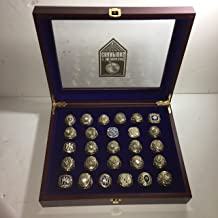 Set of 27 New York Yankees World Series Replica Rings W/Box-Size 10.5-12 Gold & Silver Color Collectible 1923-2009 USA SHIPPER