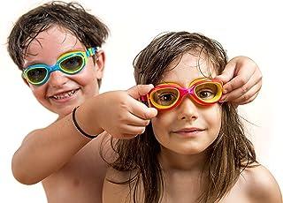 JR Kids Swim Goggles // Anti Fog - UV Protection - Soft Silicone Seals