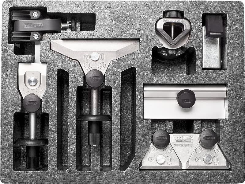 Knife Sharpener Scissor Sharpener Axe Sharpener Tormek HTK706 The Hand Tool Sharpening Kit For Tormek Sharpening Systems Sharpens Your Knives Hatchets Cutting Tools And More