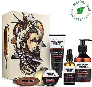 Ultimate Beard Box  Brooklyn Soap Company  Hochwertiges Bartpflege Set inkl. Bartöl, Bartshampoo, Bartbürste, Bartwachs & Bartcreme
