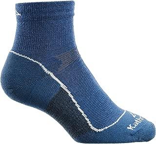 Kathmandu Ergonomic Light Warm Comfortable Hike Socks v2 Seamless Toe Closure