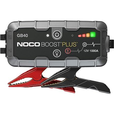 Noco Boost Xl Gb50 1500a 12v Ultrasafe Starthilfe Powerbank Tragbare Auto Batterie Booster Starthilfekabel Und Überbrückungskabel Für Bis Zu 7 Liter Benzin Und 4 Liter Dieselmotoren Auto
