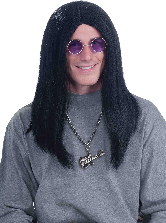 Forum Novelties Mens 80s Super Rocker Ozzy Costume Wig