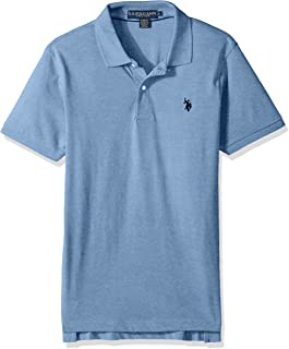 U.S. Polo Assn. Men's Slim Fit Solid Short Sleeve Jersey...