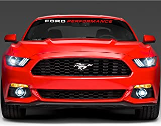 Best ford performance window banner Reviews