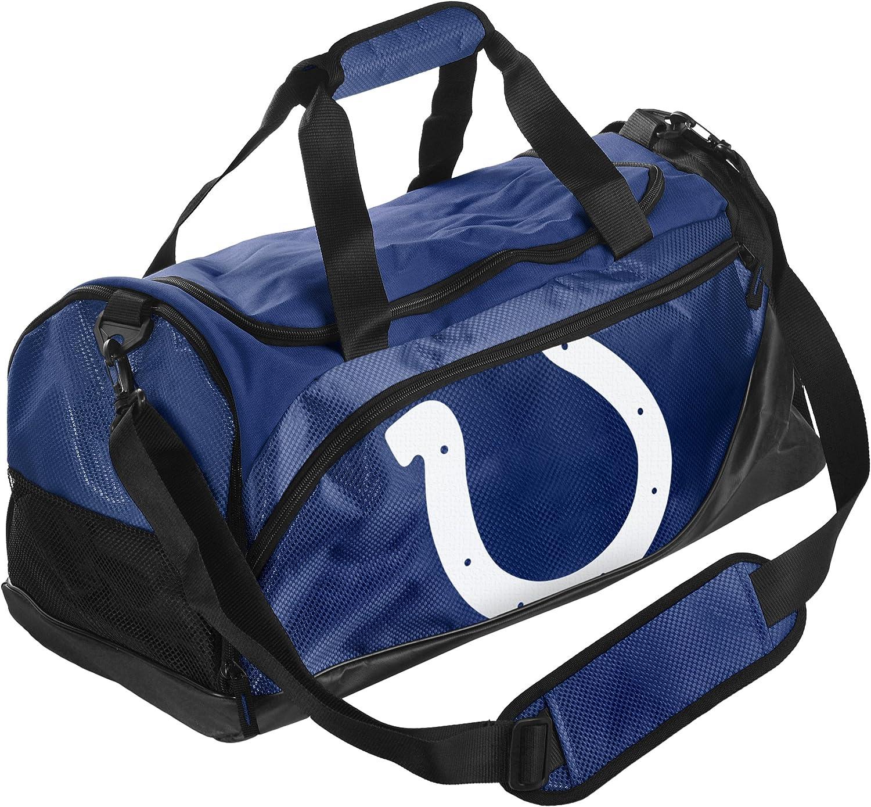 FOCO NCAA Indianapolis Colts Locker Room Collection Duffle Bag -