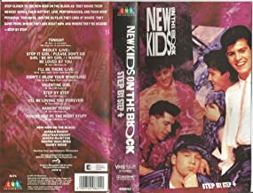 New Kids on the Block VHS