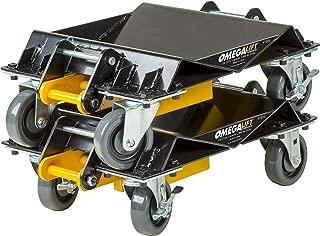 Omega 47020 2000 lb HD 3 in 1 Car Dolly Set