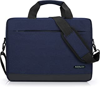 Alfheim Sacoche pour Ordinateur Portable avec Bandoulière, 15,6-16 Pouces Sac à Main Mallette Laptop pour Femme Homme Affa...