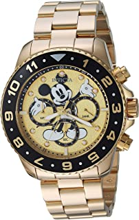 Men's Disney Limited Edition Quartz Watch with Stainless-Steel Strap