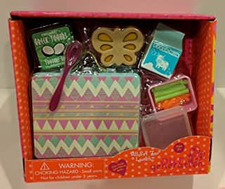 Our Generation All Set For Lunch 18 Doll Accessories School Lunchbox Food