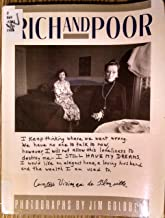 Rich and Poor: Photographs