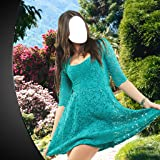 Montage photo de la robe d'été