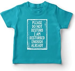 lepni.me Kids T-Shirt Please Do Not Disturb Social Distancing Quarantine Tee
