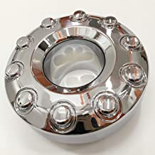 PPCovers Replacement for 05-17 F450 Super Duty DUALLY Chrome 10 Lug Front Wheel Center Hub Cap 1 Piece 5C3Z1130NA