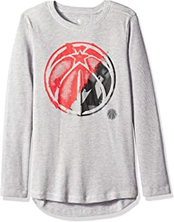 NBA by Outerstuff NBA Youth Boys Black Out Long Sleeve Waffle Knit Thermal