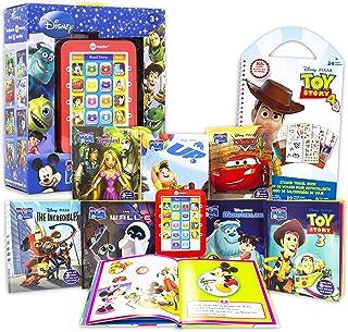 Disney Me Reader Electronic Reader 8 Book Bundle ~ Disney Pixar Books for Toddlers, Kids | Disney Book Set with 350+ Toy S...