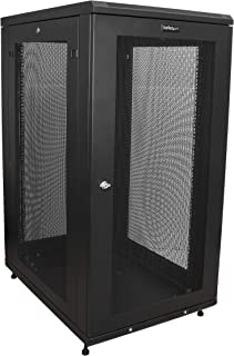 StarTech.com 24U Server Rack Cabinet - 4-Post Adjustable Depth (2