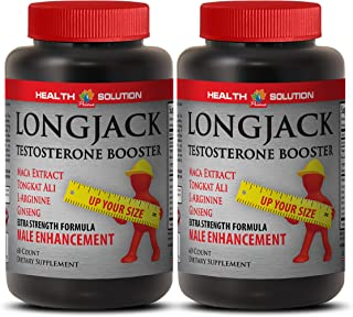 Natural Male Enchantment Pills Increase Size and Length - LONGJACK Size UP (All Natural Formula) - Tongkat ali Extract - 2...