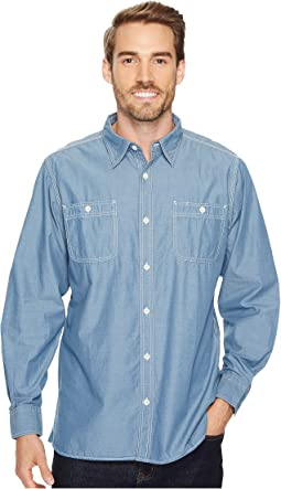 Mountain Chambray Long Sleeve Shirt
