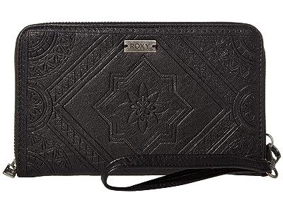 Roxy Oopsie Daisy Wallet (Anthracite 2) Wallet Handbags