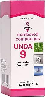 unda 9 homeopathic