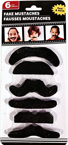 Fake Mustaches with Adhesive by Grünbrier