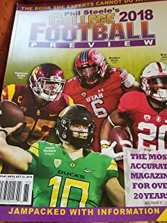 Phil Steele's 2018 College Football Preview - WEST COAST Cover BRAND NEW