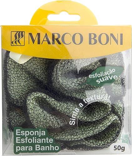 Esponja Para Banho Esfoliante, Marco Boni, Cor sortida
