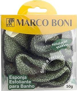 Esponja para Banho Esfoliante 50 gr, 8470, Marco Boni, Cores Sortidas, 1 Unidade