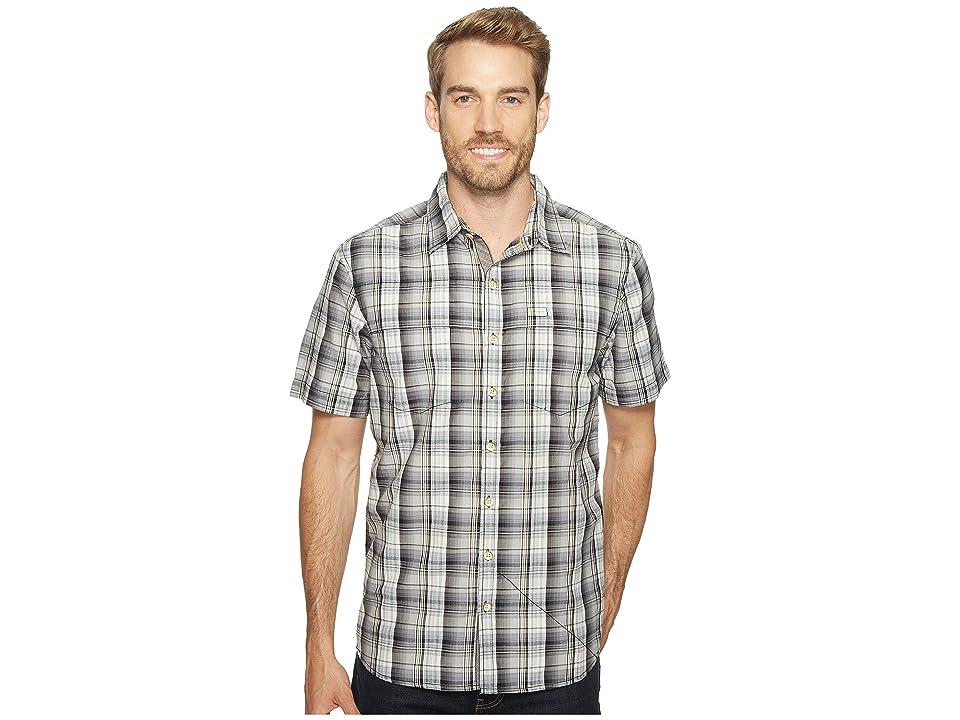 Ecoths Carrington Short Sleeve Shirt (Phantom) Men