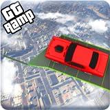 GT Vertical Mega Ramp Car Stunt Racing Games