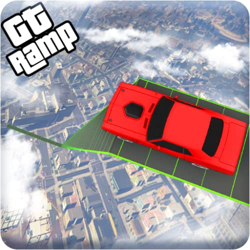 GT Vertical Mega Ramp Car Stunt Racing Games