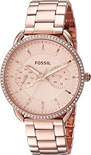 FOSSIL Women's ES4264 Year-Round Analog-Digital Quartz Rose Gold Band Watch