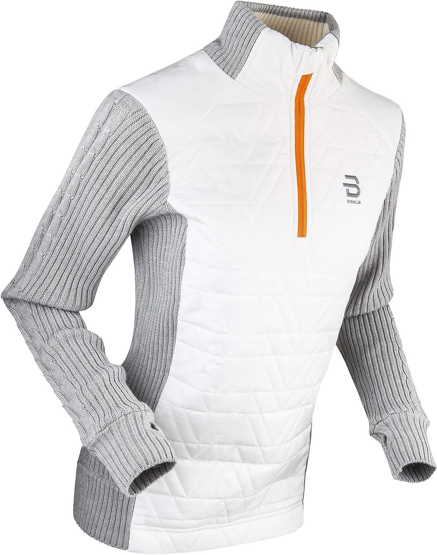 B DÆHLIE Daehlie Women's Comfy Half Zip Sweater -Insulated Pullover Sweatshirt
