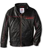 Appaman Kids - Route 2 Jacket Fully Lined Moto Jacket (Toddler/Little Kids/Big Kids)