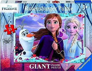 Ravensburger - Frozen 2 B Puzzle 24 Giant Sol, Multicolore, 03036