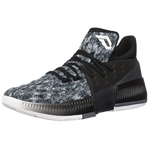 adidas Mens Dame 3 Basketball Shoe