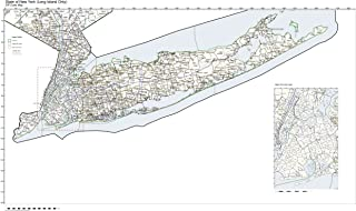 Best map of long island with zip codes Reviews