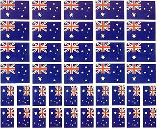 40 Tattoos: Australian Flag, Australia Party Favors