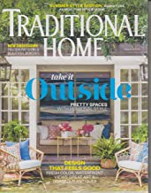 Traditional Home May/June 2019 Take It Outside Pretty Spaces with Personal Style