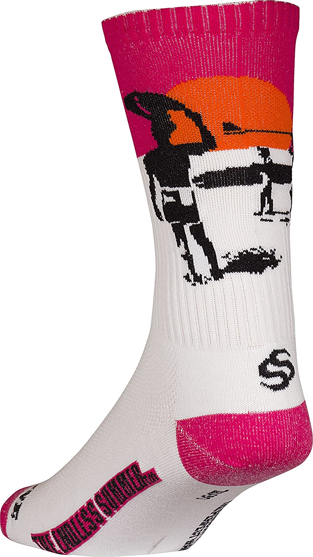 Adrenaline Promotions Adult Endless Summer Poster Ribbed Surf Socks