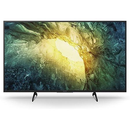 Sony KD-43X7055 Bravia 108 cm (43 Zoll) Fernseher (LED, 4K Ultra HD (UHD), High Dynamic Range (HDR), Smart TV, 2020 Modell) Schwarz
