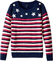 Tommy Hilfiger Kids - Stars and Stripes Pullover (Big Kids)